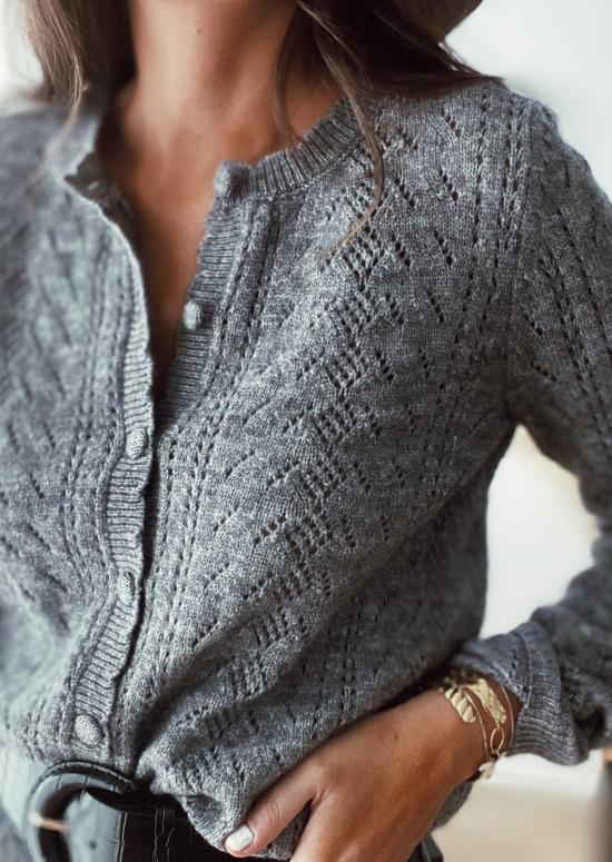 Lou sweater dark gray