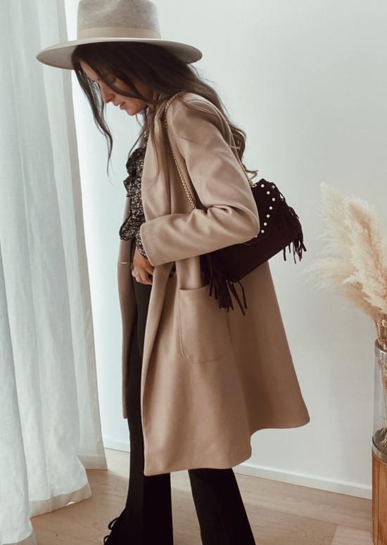 Manteau Scarlett beige