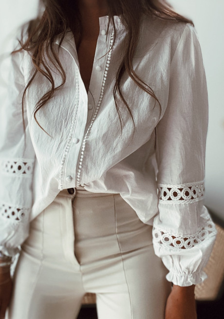 Chemise Coraly blanche