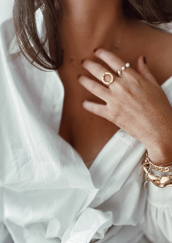 Golden Avril cuff