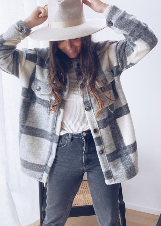 Veste Huguette grise