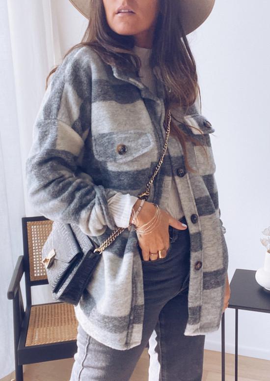 Gray Huguette jacket
