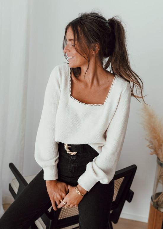 Ecru Auguste sweater