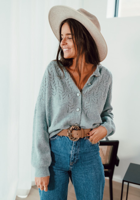 Pale green Lovely cardigan