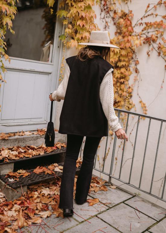 Black Calvin sleeveless