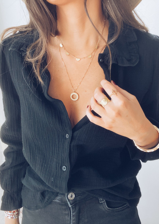 Golden jessy necklace