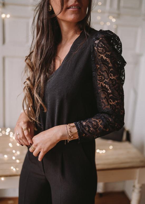 Black Emélia jumpsuit