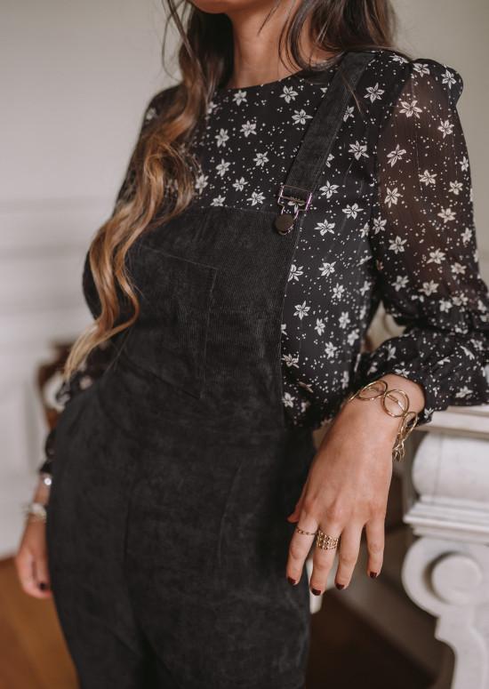 Salopette Addison noire
