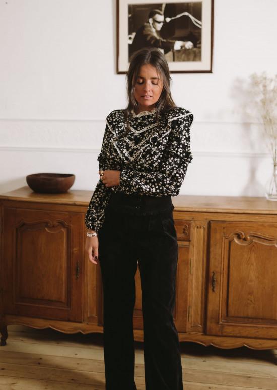 Pantalon Krys noir