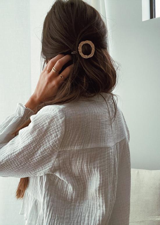 Golden Zig hair clip
