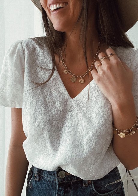 Golden Pacco necklace