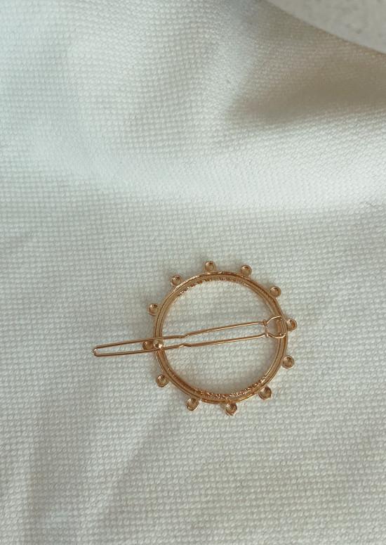 Golden Liwan hair clip