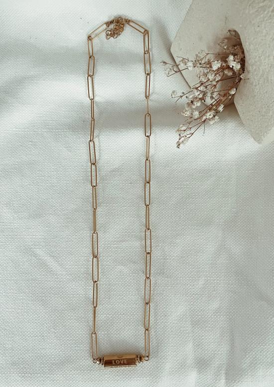 Golden Paxi necklace
