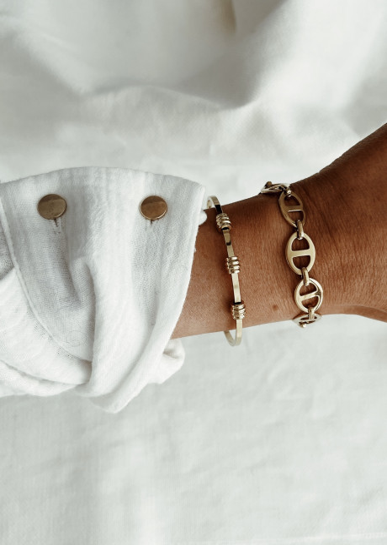 Bracelet Cylia doré