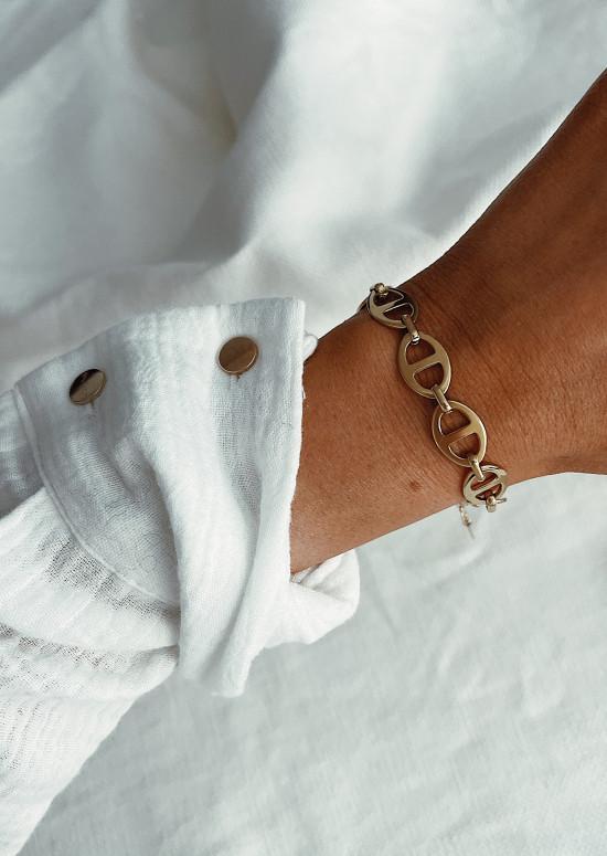 Golden Cylia bracelet