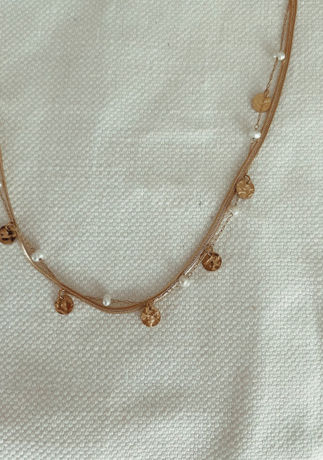 Golden Teo necklace