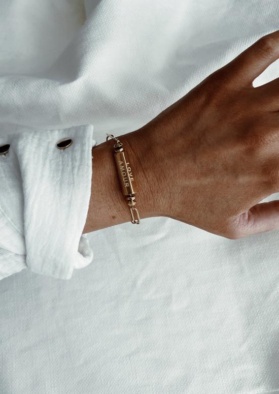 Bracelet Doua doré