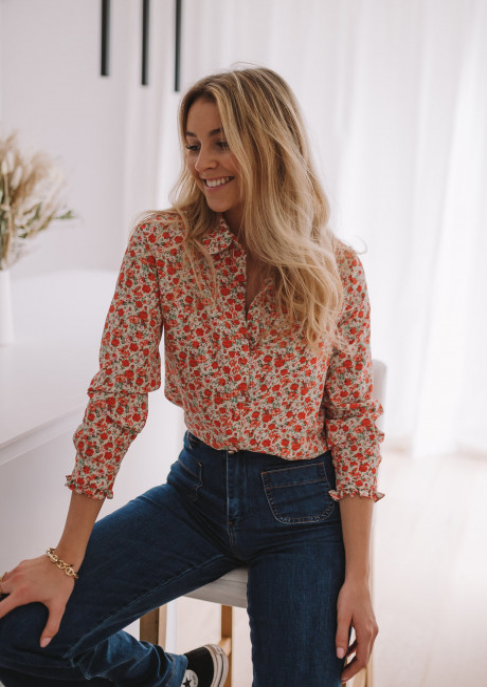 Chemise Lisou à fleurs
