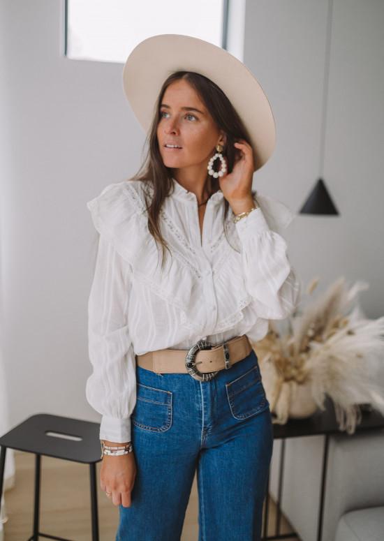 Chemise Estela blanche