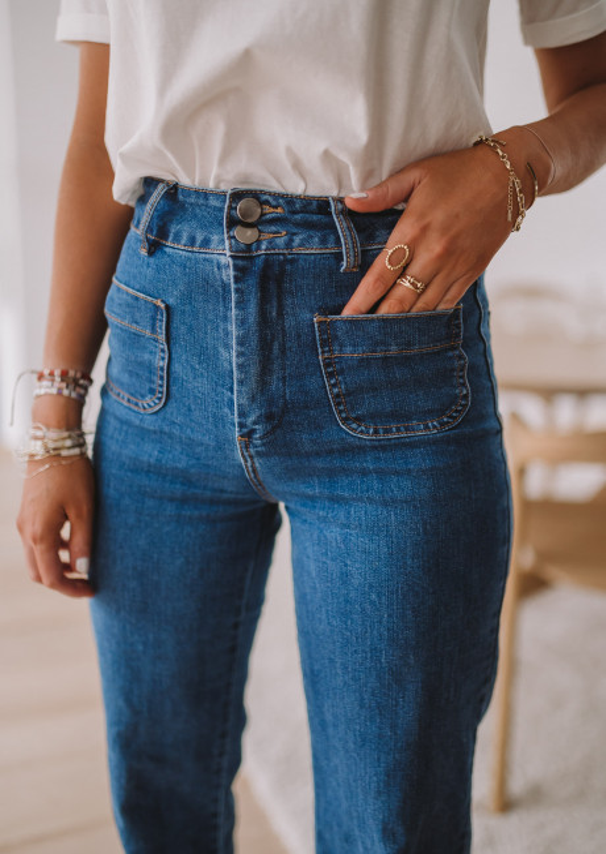 Jeans Hugues bleu