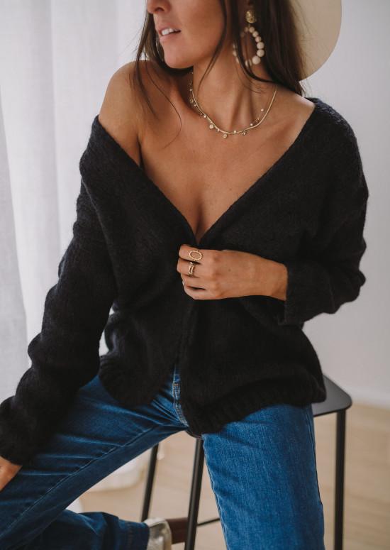 Black Cardigan Easy Clothes