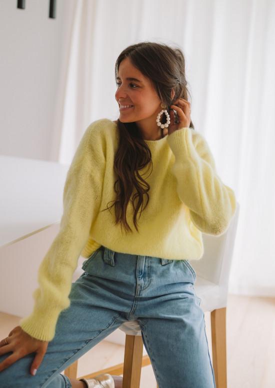 Yellow Francesca sweater