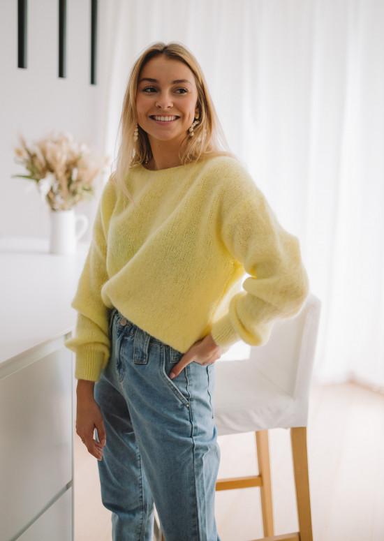 Pull Francesca jaune