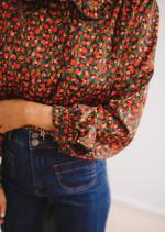 Chemise Pauline à motifs - CREATION
