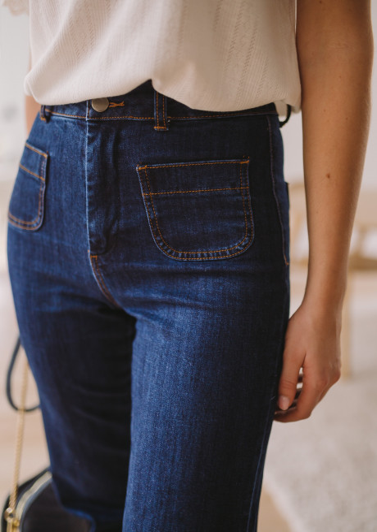 Dark blue Hugues jeans