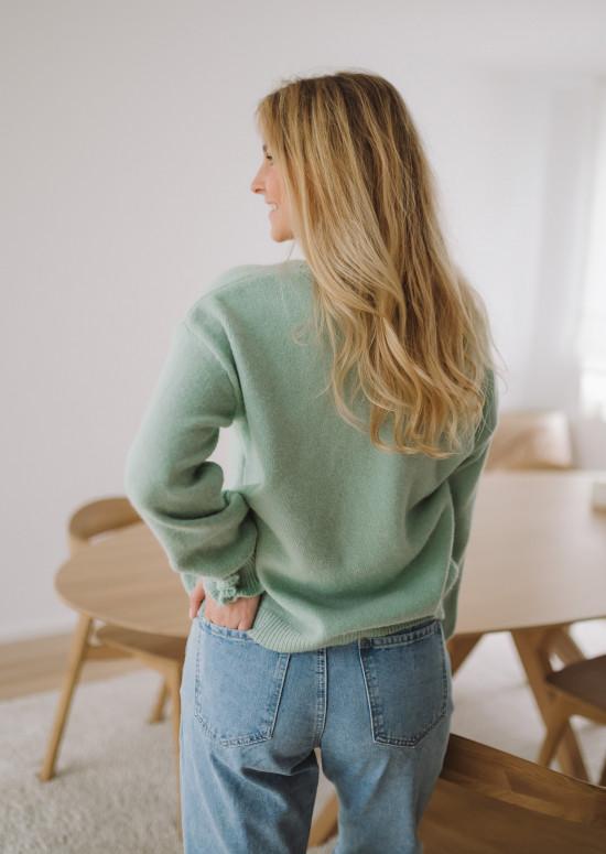 Sea green Heivi sweater