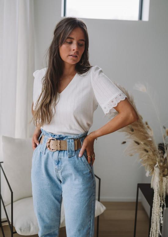 Tee-shirt Henriette blanc