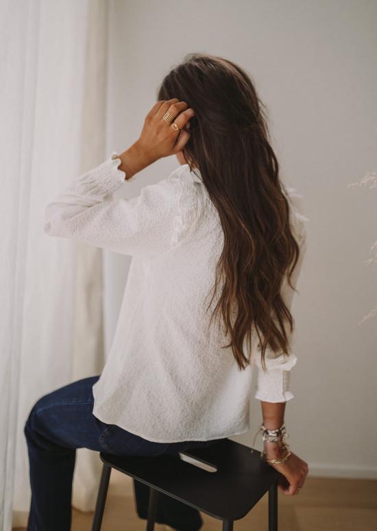 White Benedicte shirt