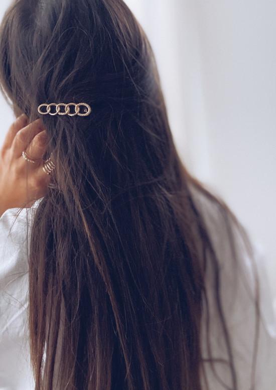 Golden Gina hair clip