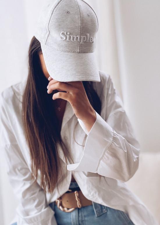 Grey Simple cap - CREATION