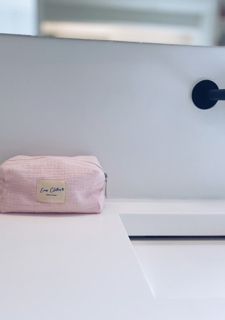 Pochette Easy Clothes rose - CREATION