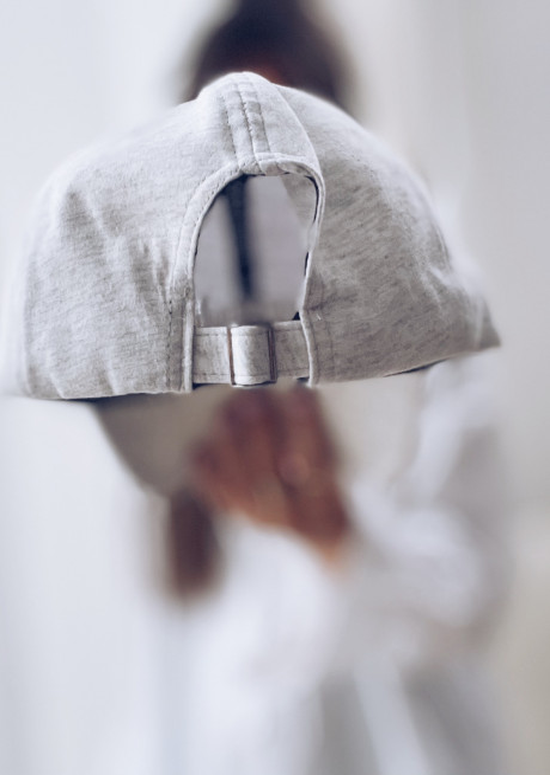 Casquette Simple grise - CREATION