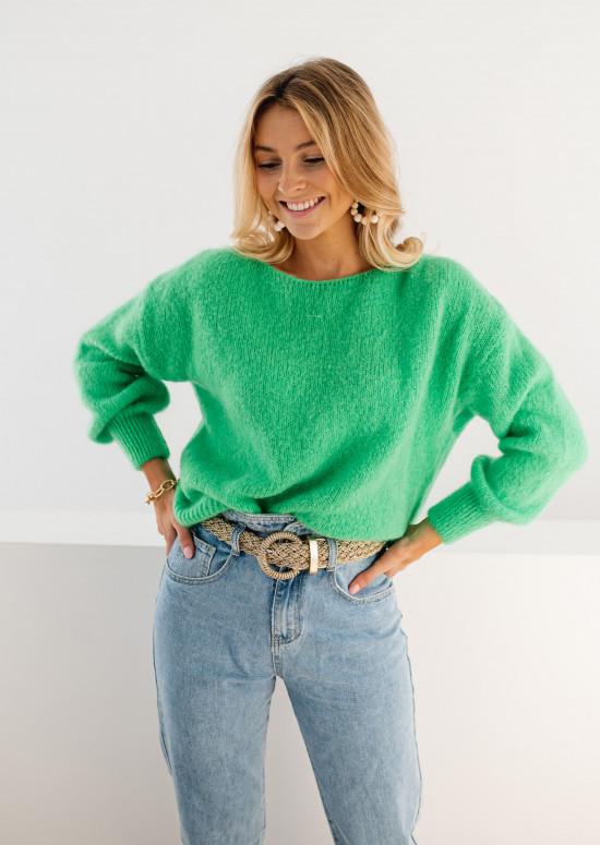 Green Francesca sweater