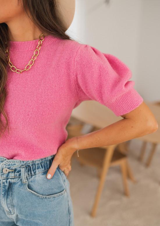 Pink Johnson sweater