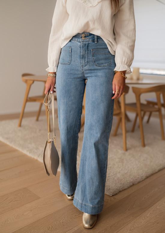 Jeans Hugues bleu clair