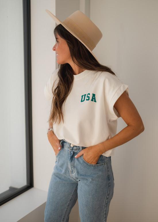 Ecru USA t-shirt