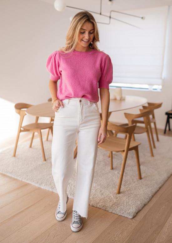 White Bastian jeans