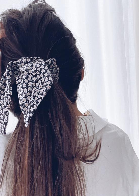 Floral Sallou scrunchie