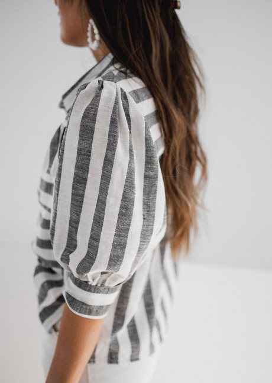 Chemise à lignes Maela - CREATION