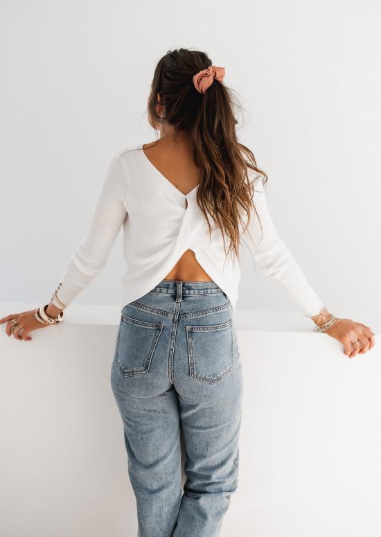 Pull Jeanna blanc