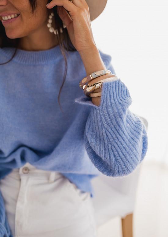 Pull Irina bleu