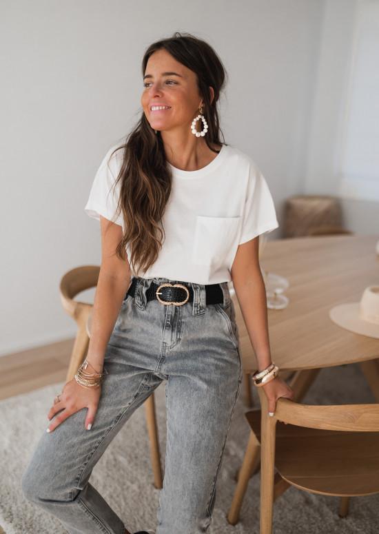 T-shirt Léone blanc