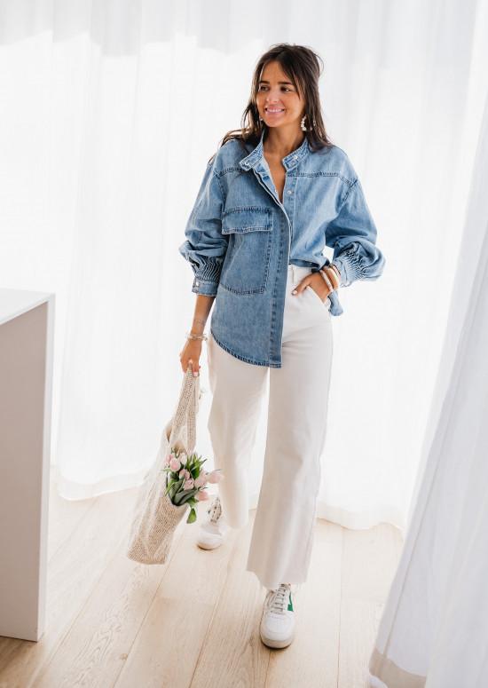 Veste - chemise Maggy en jeans