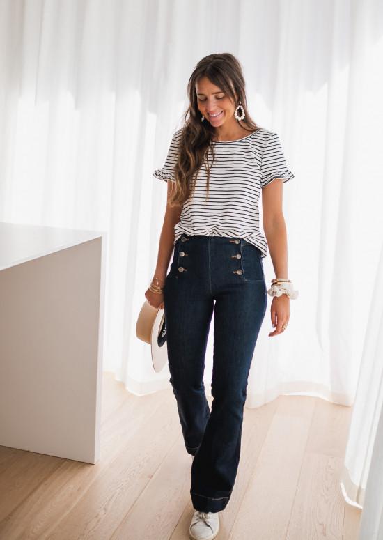 Jeans Berty bleu foncé