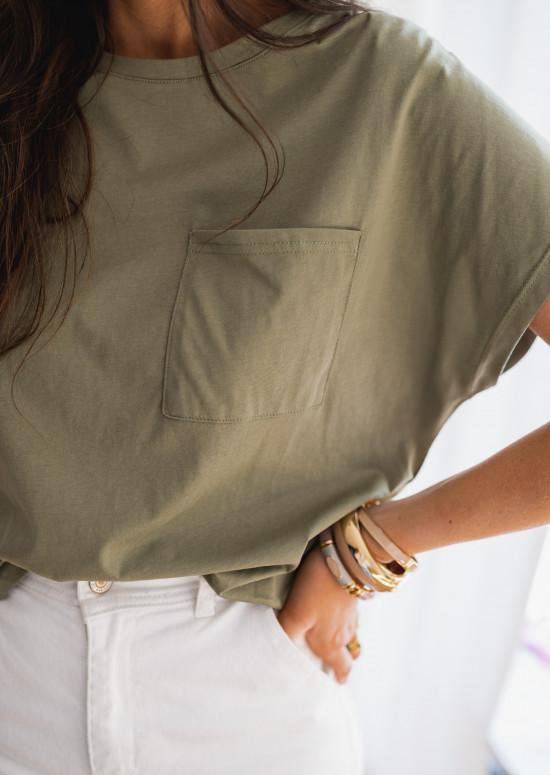 Khaki Léone t-shirt