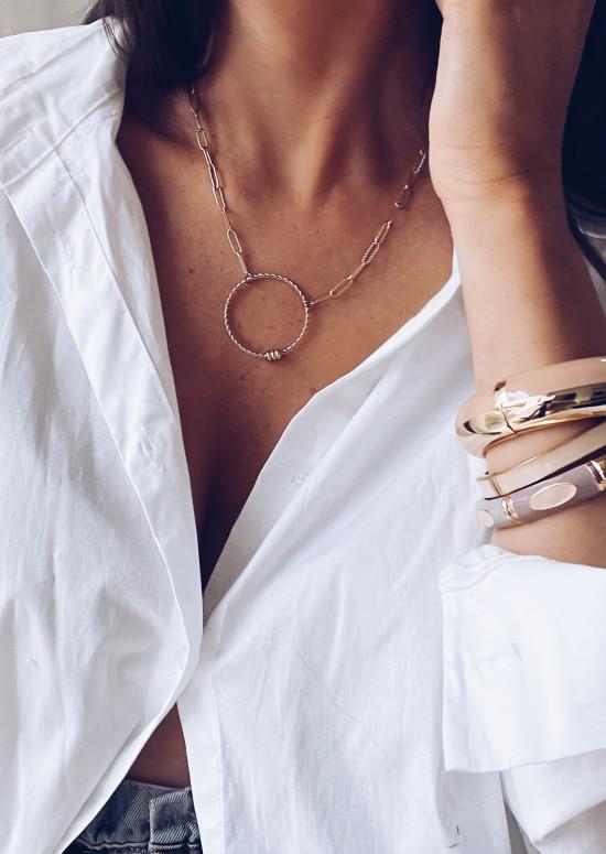 Bracelet Loulou rose